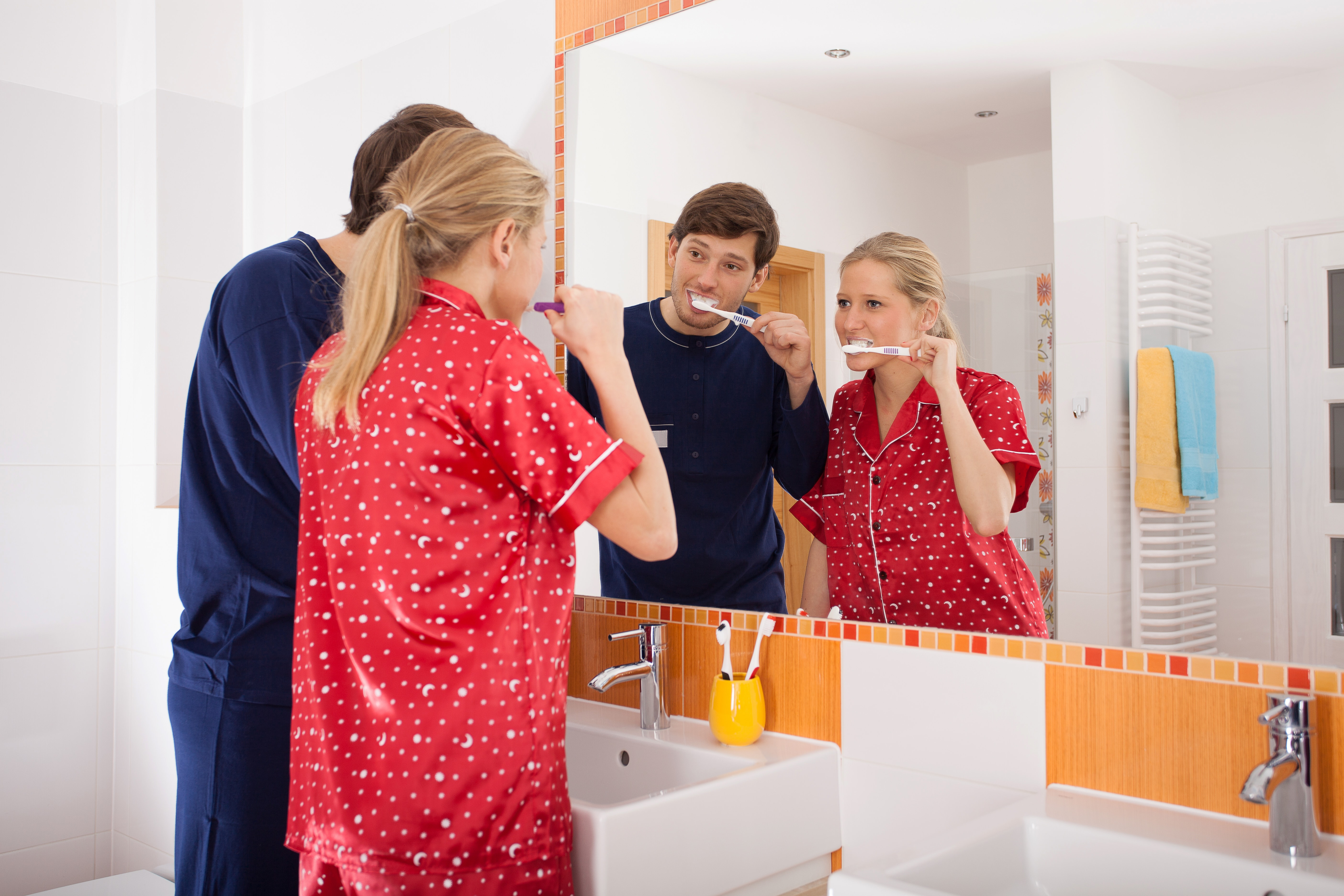 An Oral Hygiene Routine At Bedtime